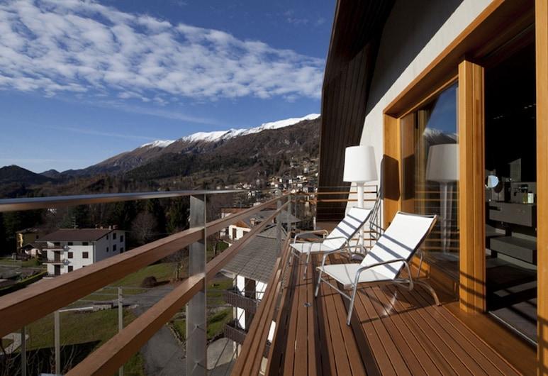 Hotel Milano Alpen Resort, Castione Della Presolana, Junior Σουίτα, Μπαλκόνι (Emotional SPA), Δωμάτιο επισκεπτών
