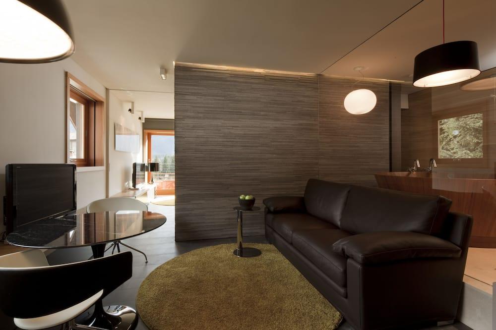 Suite, Balcony (Emotional SPA) - Living Area