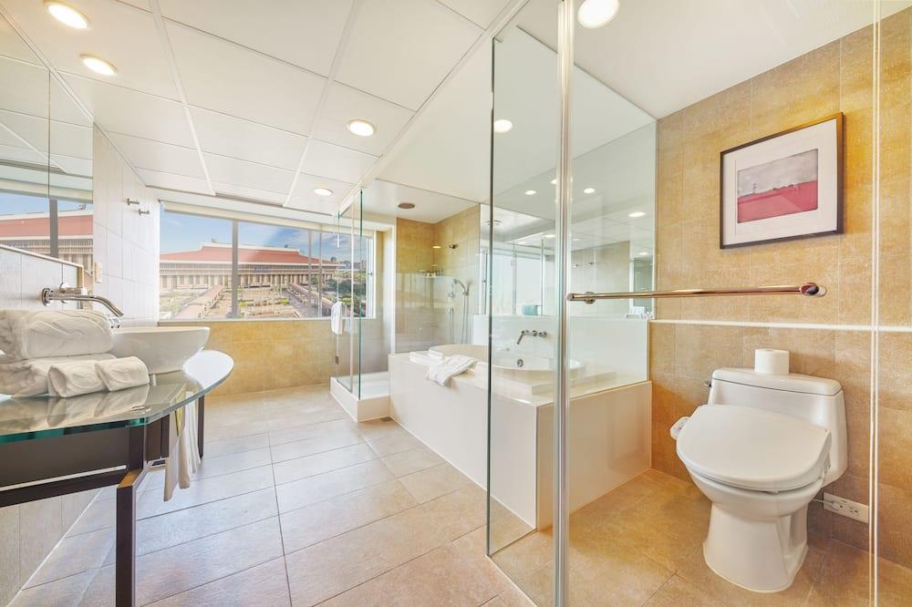 Numeris, 1 standartinė dvigulė lova (Station) - Vonios kambarys