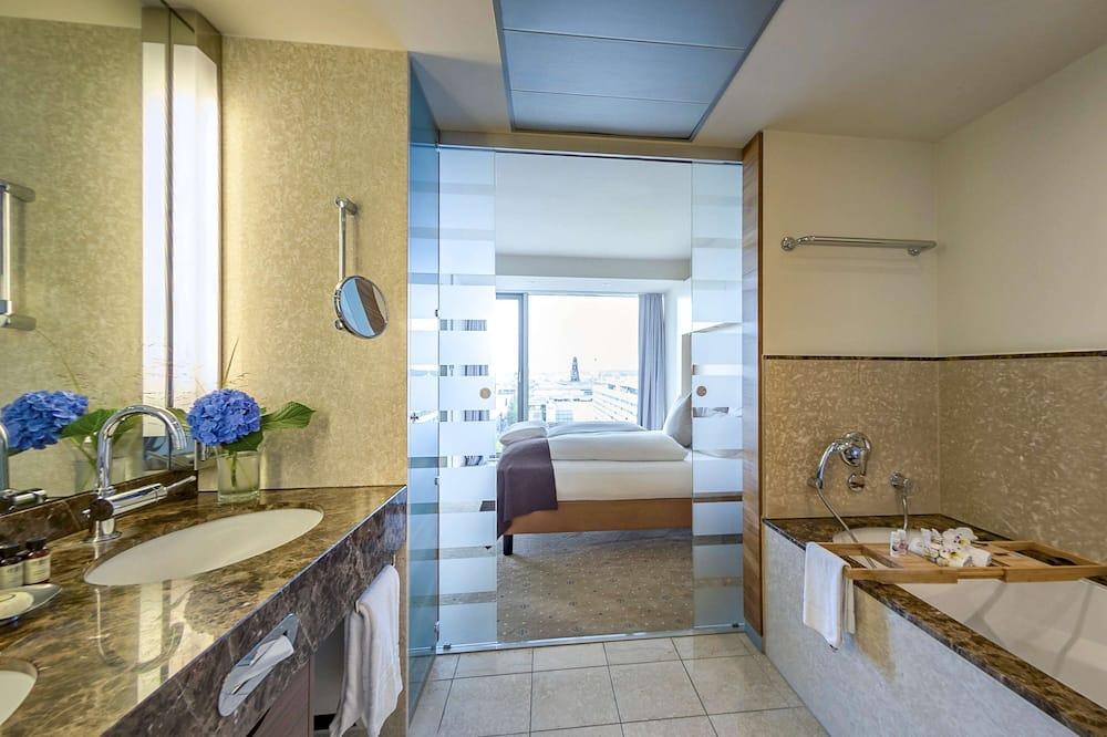普通套房, 1 張標準雙人床, 景觀 - 浴室