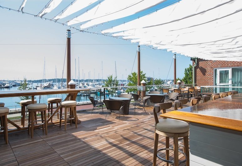 Newport Marriott, Newport, Terrace/Patio