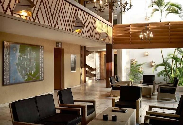 Hotel Mandji, Port Gentil, Lobby Sitting Area