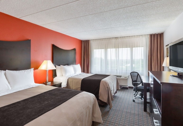 Comfort Inn & Suites BWI Airport, Baltimore, Standard Room, 2 Double Beds, Non Smoking, Guest Room