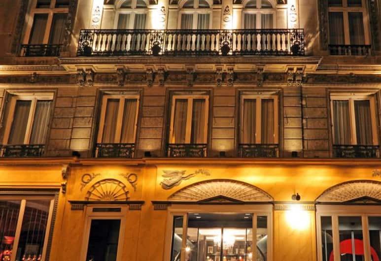 羅布林新酒店, 巴黎, 酒店正面