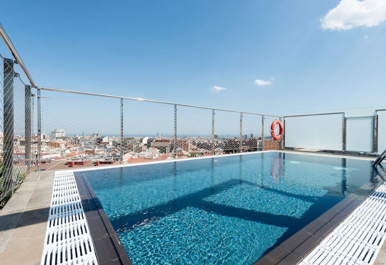 Catalonia Park Putxet Hotel, Barcelona, Utomhuspool