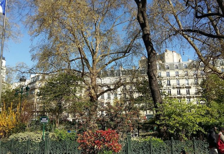 ベストウェスタン アンジュ ラファイエット オペラ, パリ, 庭園