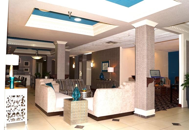 Best Western Overland Park Hotel, אוברלנד פארק, אזור ישיבה בלובי