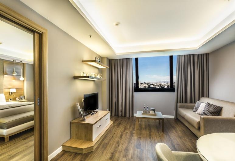 Holiday Inn Naples, Νάπολη, Executive Σουίτα, 1 King Κρεβάτι, Μη Καπνιστών, Δωμάτιο επισκεπτών