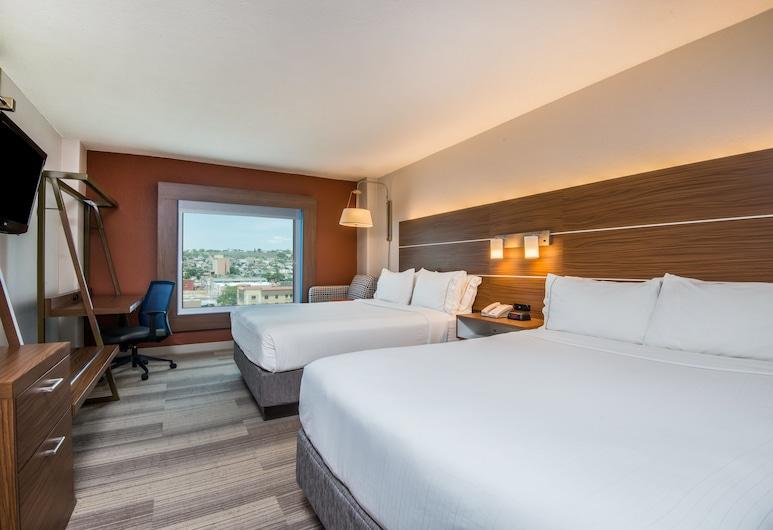 HI Express El Paso Downtown, El Paso, Soba, 2 queen size kreveta, za nepušače (Feature), Soba za goste