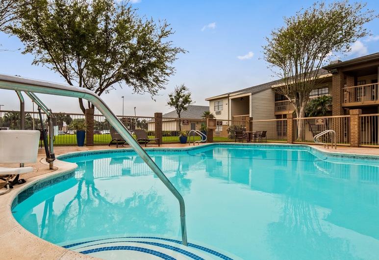 Best Western Rose Garden Inn & Suites, McAllen, Basen odkryty