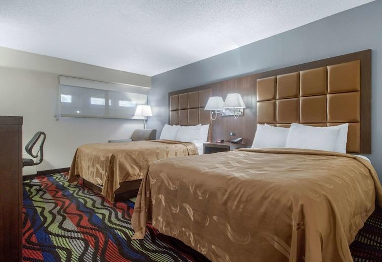 Quality Inn, קוקוויל, חדר סטנדרט, 2 מיטות קווין, ללא עישון, חדר אורחים