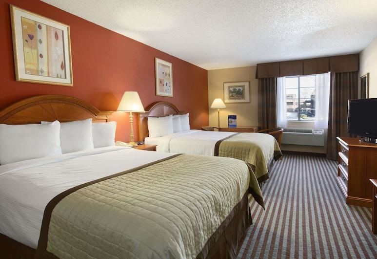Baymont by Wyndham Oklahoma City Airport, Oklahoma City, Standard szoba, 1 king (extra méretű) franciaágy, Vendégszoba