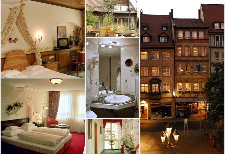 Hotel am Josephsplatz, Núremberg, Departamento, Vista de la habitación