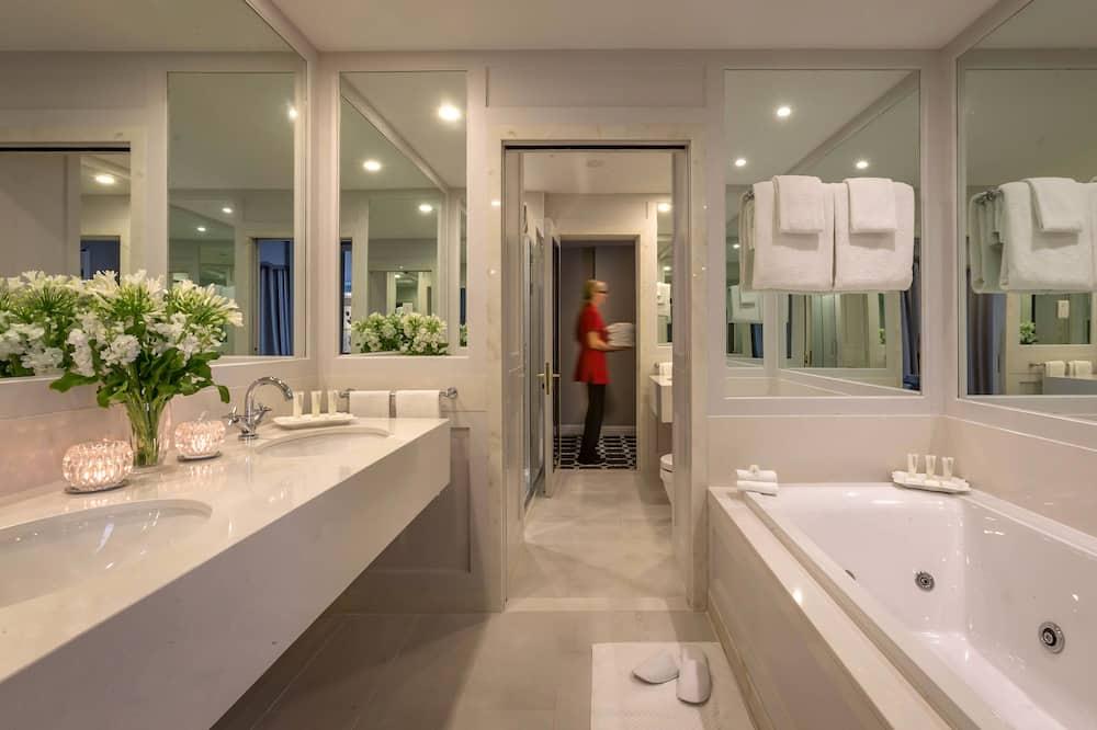 Suite presidencial - Cuarto de baño