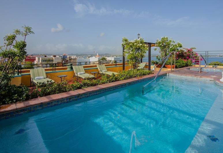 Hotel El Convento, סן חואן, בריכה על הגג