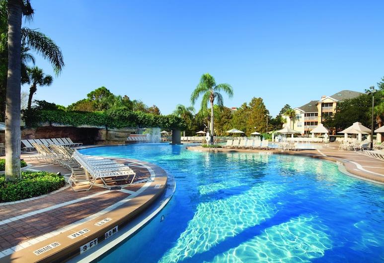 Sheraton Vistana Resort Villas, Lake Buena Vista / Orlando, אורלנדו, בריכה חיצונית