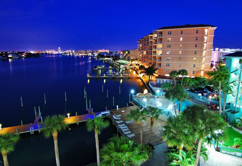 Clearwater Beach Hotel, Clearwater Beach, Hotel Front – Evening/Night