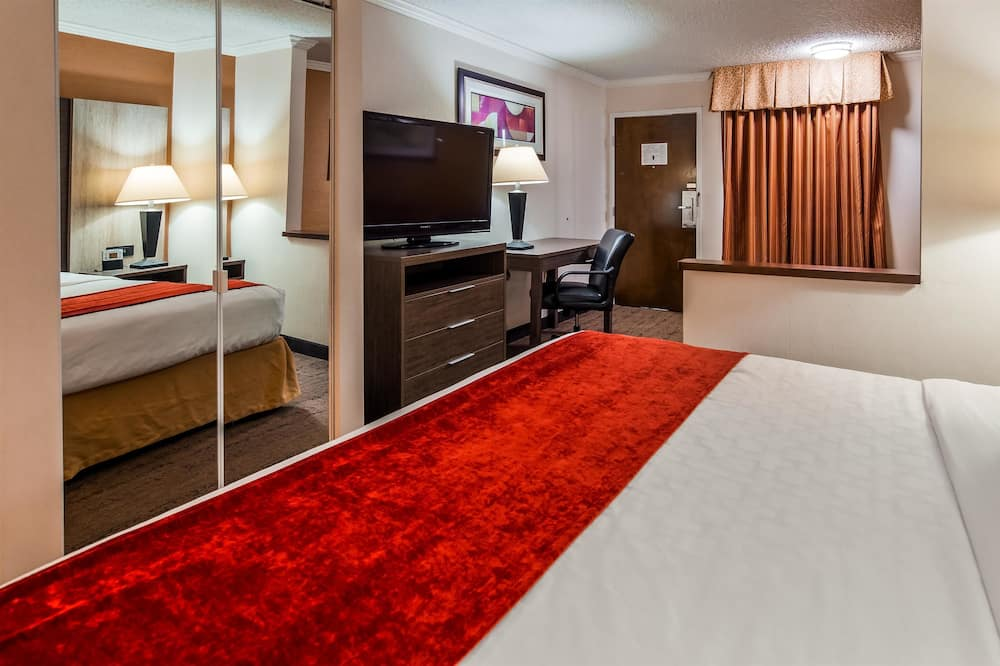 Executive Room, 1 King Bed, Non Smoking, Refrigerator & Microwave (Shower Only;with Sofabed) - Guest Room