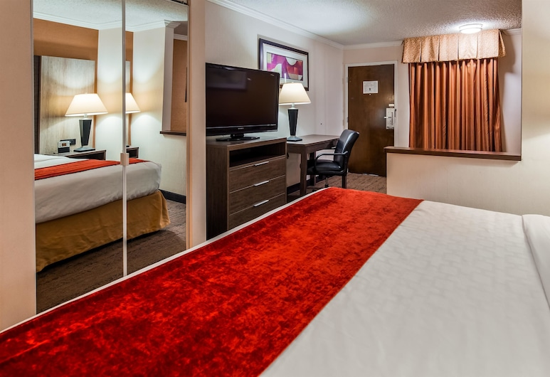 Best Western Plus Galleria Inn & Suites, Buffalo, Camera Executive, 1 letto king, non fumatori, frigorifero e microonde (Shower Only;with Sofabed), Camera