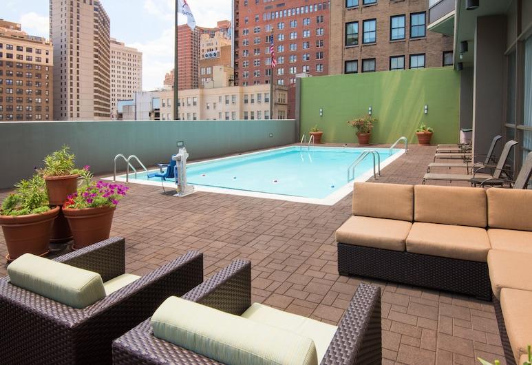 Holiday Inn Express Philadelphia-Midtown, Philadelphia, Udendørs pool
