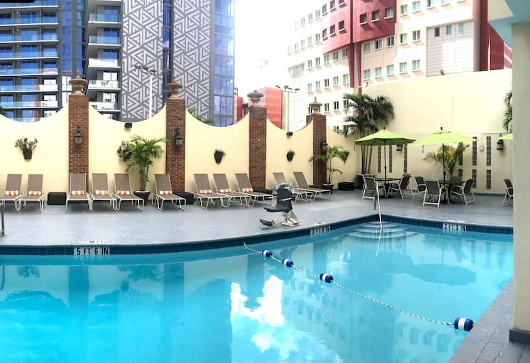 Holiday Inn Port of Miami - Downtown, Miami, Terrasse/Patio