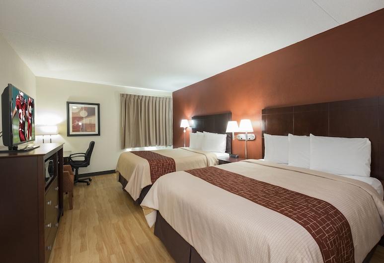 Red Roof Inn & Suites Cincinnati North - Mason, Cincinnati, Pokój Deluxe, 2 łóżka queen, dla niepalących, Pokój