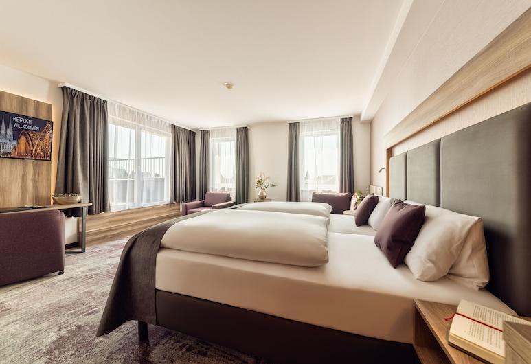 CityClass Hotel Europa am Dom, Colônia, Suíte júnior, Quarto
