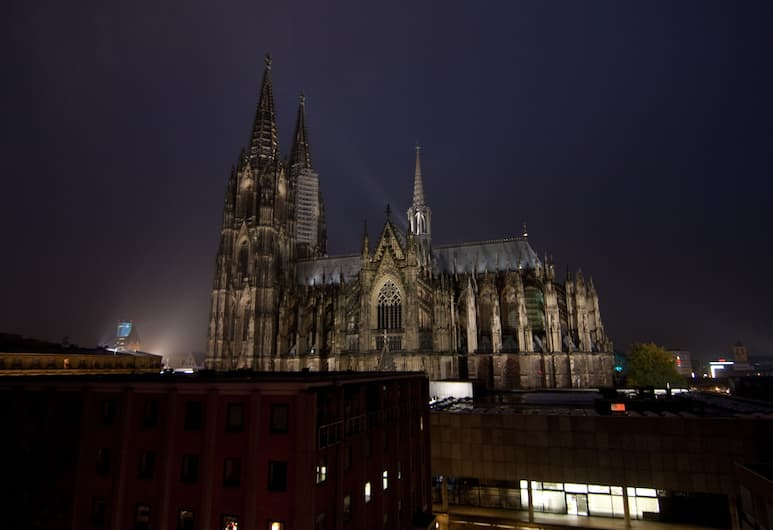 CityClass Hotel Europa am Dom, Cologne, Superior Single Room (Cathedral View), Guest Room View