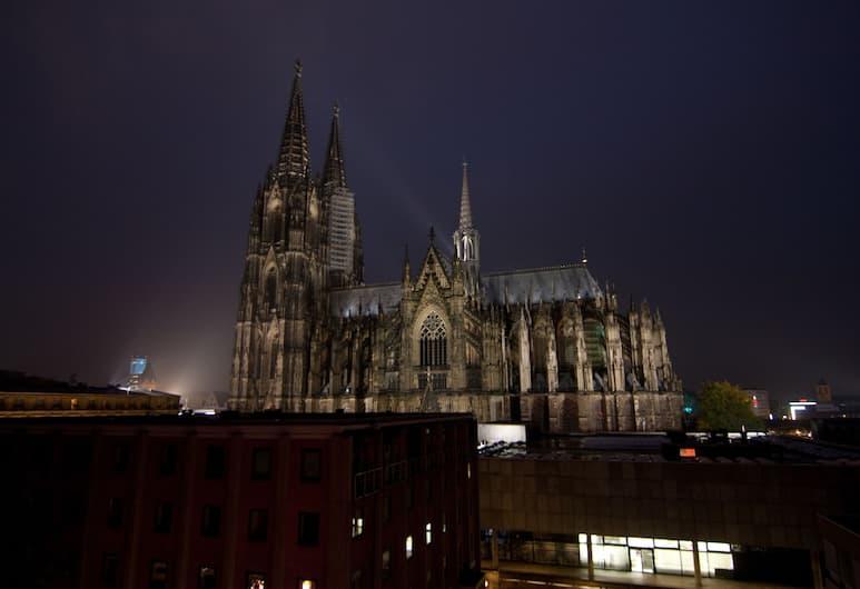 CityClass Hotel Europa am Dom, Cologne, Superior-herbergi fyrir einn (Cathedral View), Útsýni úr herbergi