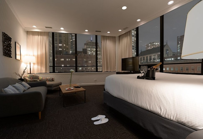 The Tremont Chicago Hotel at Magnificent Mile, Chicago, Executive suite, Kamer
