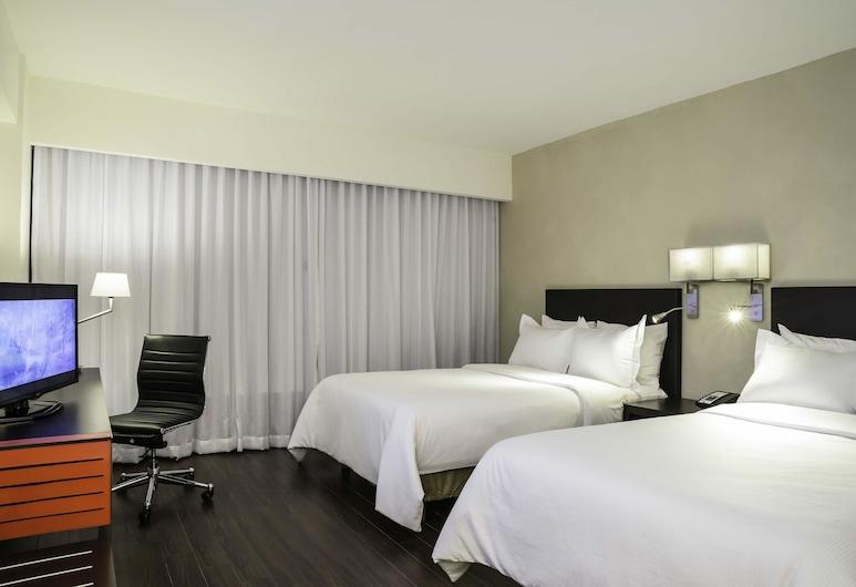 Fiesta Inn Monterrey Valle, Сан-Педро-Гарса-Гарсия, Улучшенный двухместный номер с 1 двуспальной кроватью, Номер