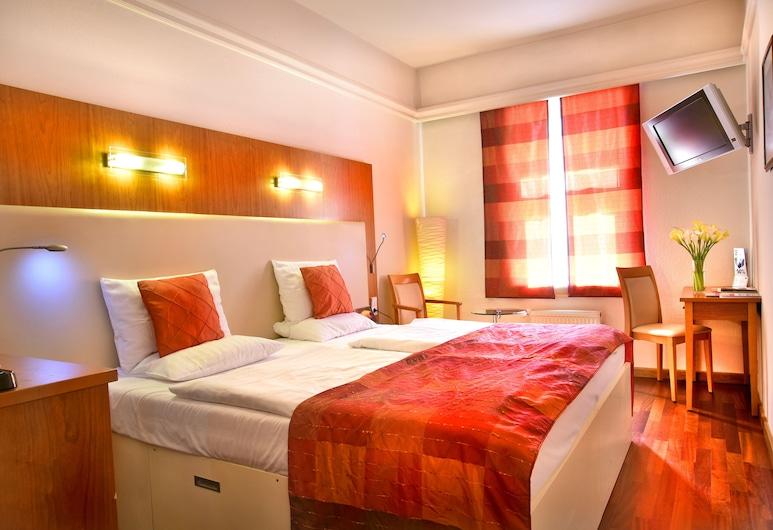 Hotel Ametyst, Praha, Izba typu Superior s dvojlôžkom alebo oddelenými lôžkami, Výhľad z hosťovskej izby