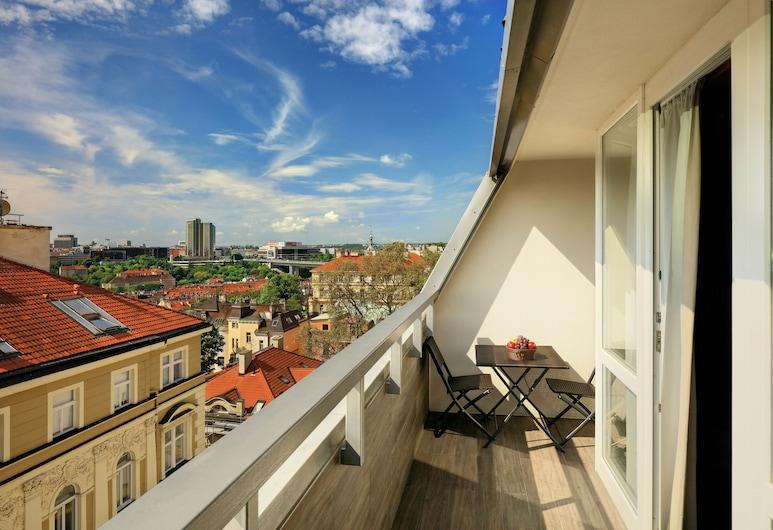 Hotel Ametyst, Praga, Vista do hotel