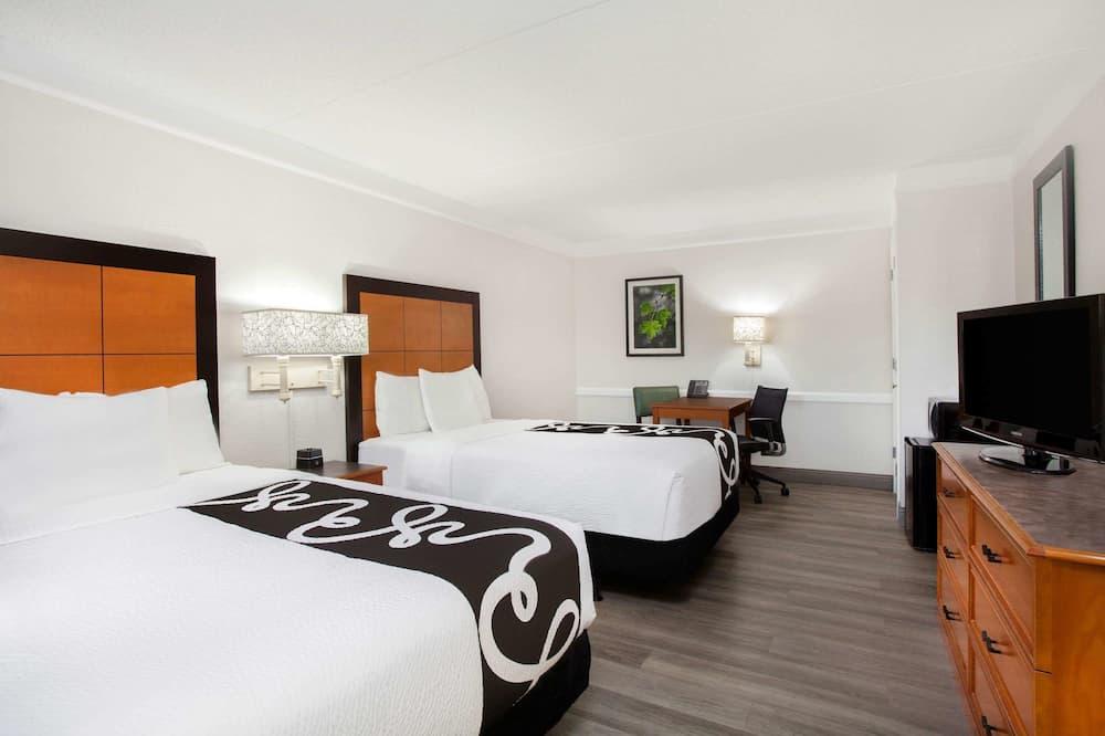 חדר, 2 מיטות זוגיות, נגישות לנכים, ללא עישון - תמונה