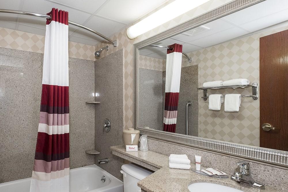 高級客房, 1 張特大雙人床, 吸煙房 - 浴室