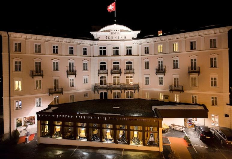 伯尼娜 1865 酒店, 萨梅丹, 酒店正门 - 夜景
