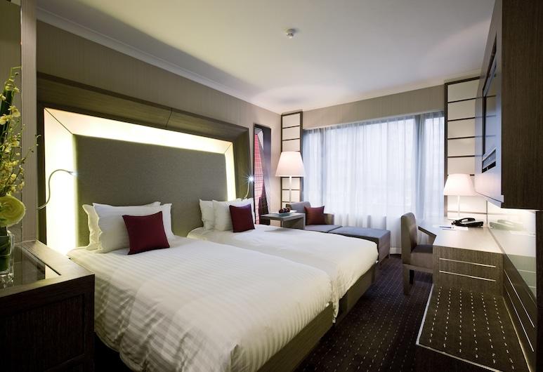 香港九龍諾富特酒店, 九龍, 高級雙床房, 2 張單人床, 客房