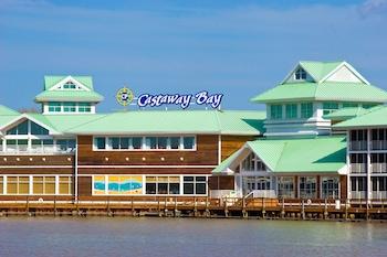 Sandusky bölgesindeki Cedar Point's Castaway Bay resmi