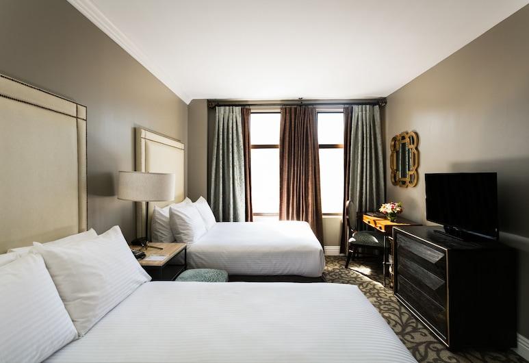 Hotel Bijou, סן פרנסיסקו, חדר, 2 מיטות זוגיות, חדר אורחים