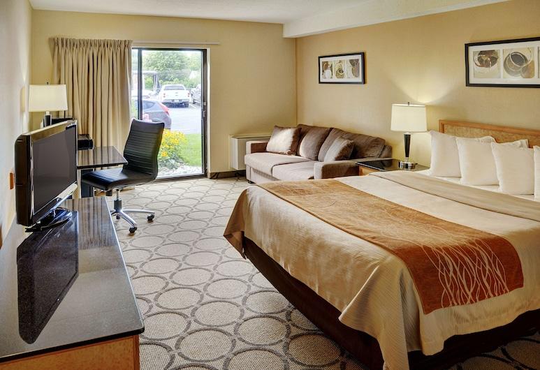 Comfort Inn, Yarmouth, Quarto Standard, 1 cama queen-size, Não-fumadores, Quarto