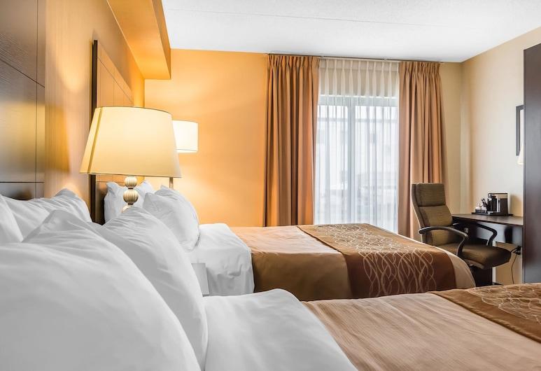 Comfort Inn Barrie, בארי, Double Room, 2 Double Beds, Non Smoking - Upper Floor (2nd Floor), חדר אורחים