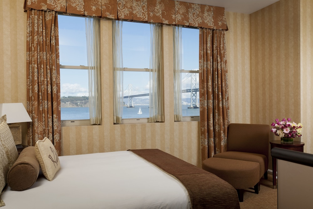 Hotel Griffon A Greystone San Francisco Deluxe Room 1 King Bed