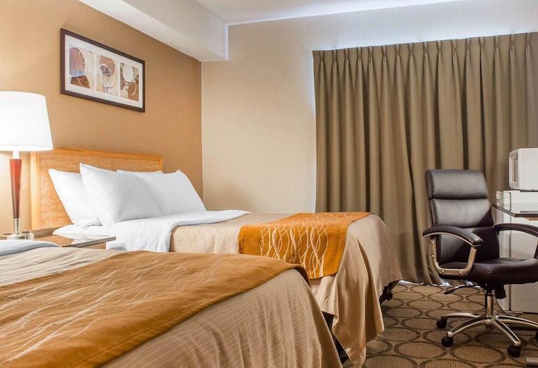 Comfort Inn Brantford, Brantford, Comfort Care, חדר זוגי, 2 מיטות זוגיות, ללא עישון, חדר אורחים