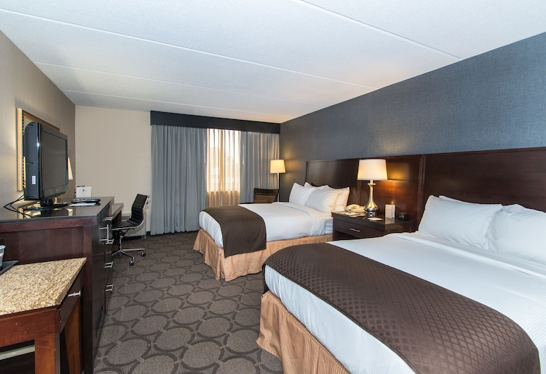 DoubleTree by Hilton Columbus - Worthington, Columbus, Standard, Two Double Beds, Guest Room