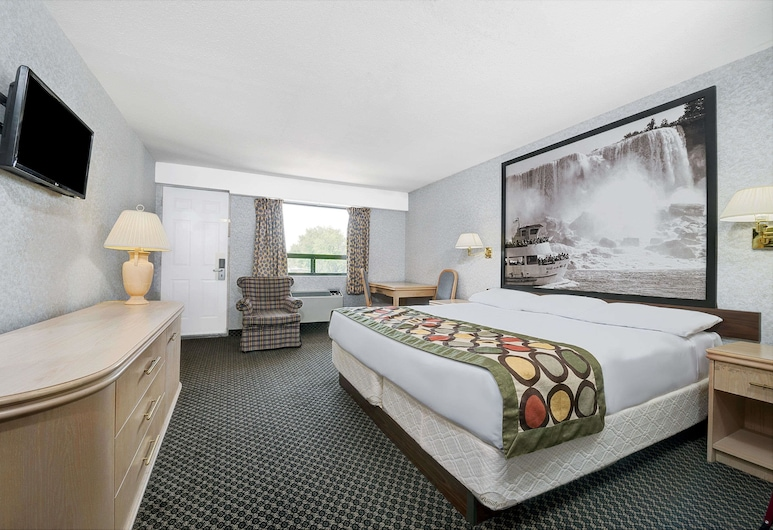 Super 8 by Wyndham Niagara Falls North, Niagara Falls, Standard Room, 1 Queen Bed, Guest Room