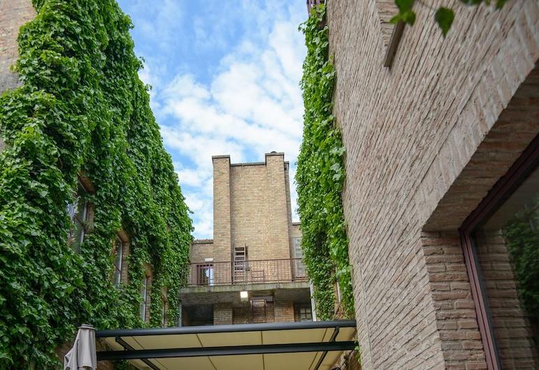 Hotel Acacia, Brugge, Enkeltrom – comfort, Terrasse/veranda