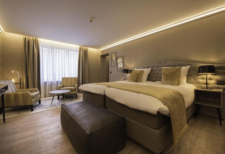 Hotel Acacia, ברוז', חדר סופריור טווין, חדר אורחים