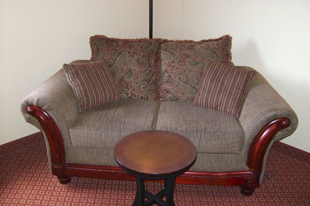 Izba typu Deluxe, 1 extra veľké dvojlôžko, nefajčiarska izba - Obývacie priestory