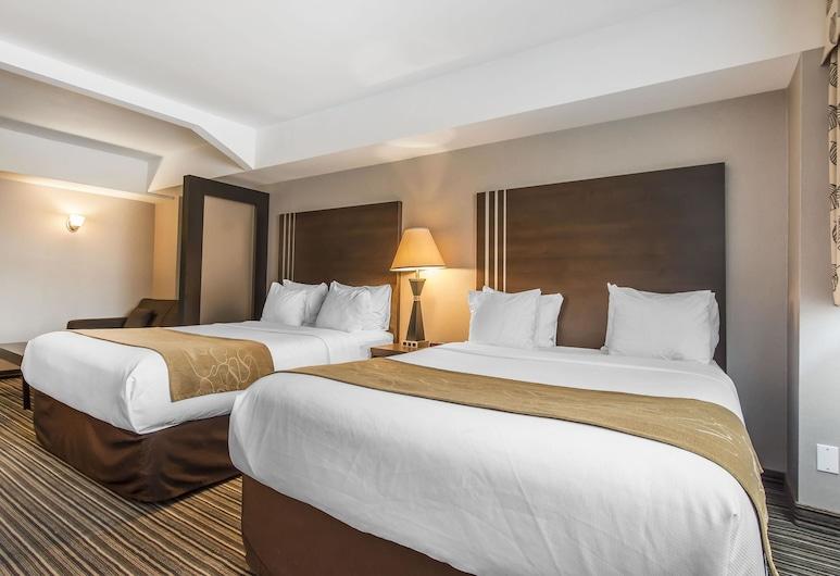 Comfort Suites Downtown, Montreal, Standard szoba, több ágy, Vendégszoba