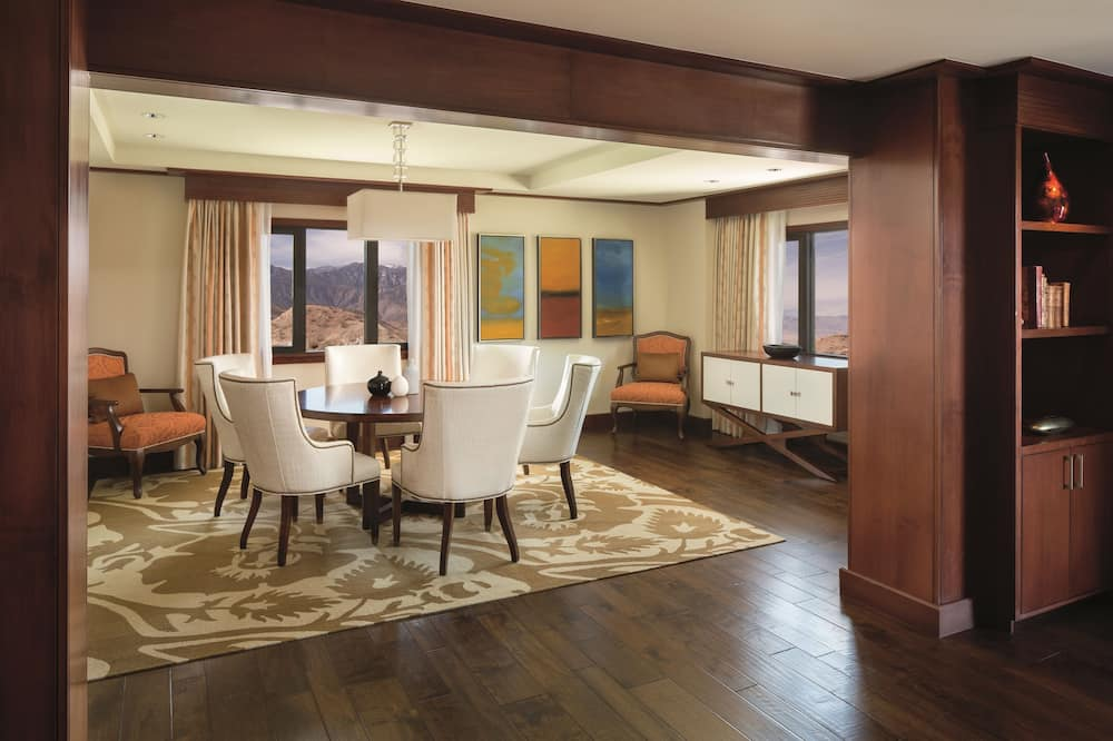 Suite - 1 kingsize-seng - ikke-ryger - balkon (Ritz-Carlton) - Opholdsområde